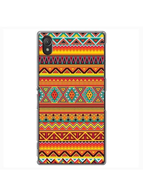 People's Cover Xperia Z2 Kabartmalı Kapak Renkli